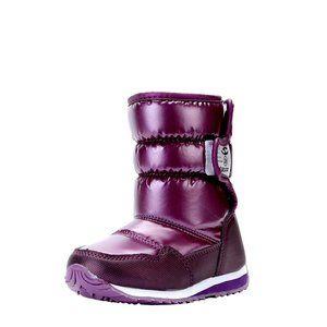 Vecjunia Unisex Kids Winter Snow Boots Anti-Slip